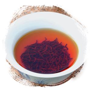 红茶:全发酵